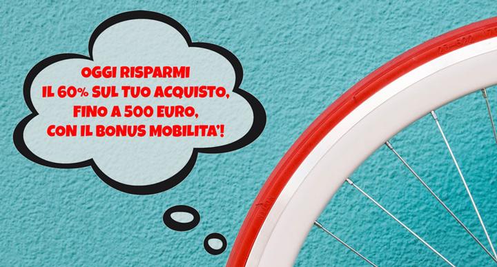 Bonus mobilità: fino a 500 € sull'acquisto di monopattini e biciclette